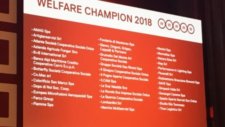 Fonderie di Montorso among the leaders in Italy for welfare